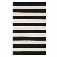 Avila Dhurrie Rug - Black | Area-rugs | Panels-and-rugs | Z Gallerie