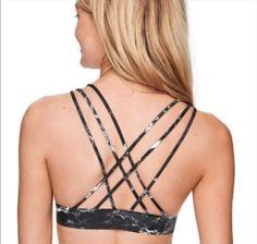 ef690d6957baf Victoria s Secret PINK Bonded Triangle Bralette Top Sport Bra Gym Yoga S NWT