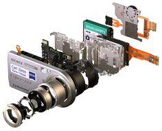Sony camera intrernals