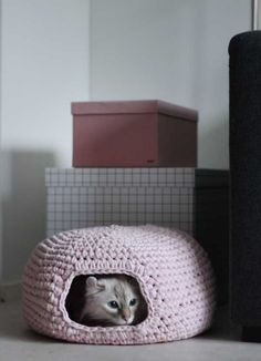 This Pin was discovered by Cille Siv. Discover (and save!) your own Pins on Pinterest. | See more about caves, crochet and cats.