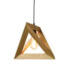 Creative Co-Op Palm/Fauna 1-Light Geometric Pendant