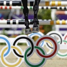 Super cool shot of #London2012 #showjumping