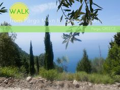 Walk from Parga town to Lichnos beach: How to and pictures