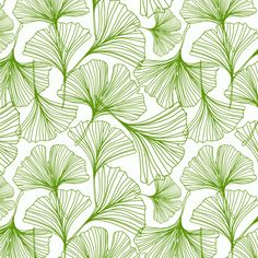 Jessica Swift Gingko Green Leaf | Jessica Swift