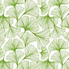 Jessica Swift Gingko Green Leaf   Jessica Swift