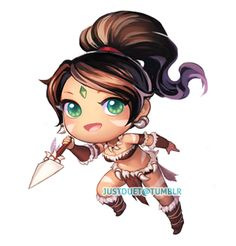 cute league of legends nidalee - Google Search