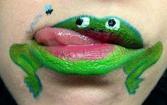 Touch Kajal: Animal Lips - Frog
