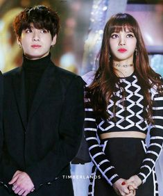 Lizkook on stage together at award show Kpop Couples, Cute Couples, Bts Jungkook, K Pop, Bts Girl, Bts Inspired Outfits, Blackpink And Bts, Wattpad, Blue Exorcist