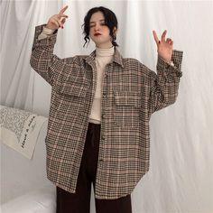 Korean Street Fashion, Asian Fashion, Look Fashion, Trendy Fashion, Fashion Outfits, Fashion Men, Winter Fashion, Cute Casual Outfits, Retro Outfits