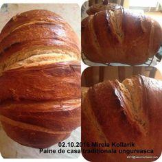 Paine de casa traditionala ungureasca   Savori Urbane Baked Potato, Potatoes, Bread, Baking, Ethnic Recipes, Food, Cabana, Bread Baking, Potato