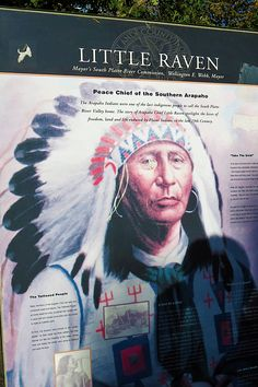 """Denver is filled with history. The namesake for Riverfront Park's main thoroughfare is Chief Little Raven known as the """"Peace Chief"""". His people were the original stewards of this precious place. It's nice that this """"island"""" of nature has endured for all to enjoy."""