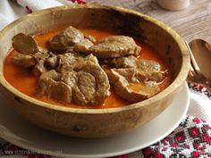 Karkówka w sosie paprykowym - kuchnia podkarpacka
