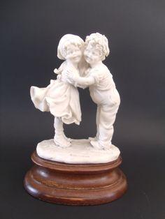 Vintage Fine Porcelain Boy and Girl by TheRoseGardenVintage