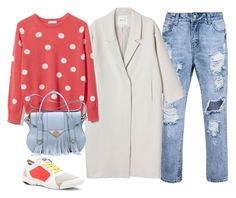 """""""Без названия #290"""" by kingcup ❤ liked on Polyvore featuring Monki, Equipment, adidas and Ella Rabener"""