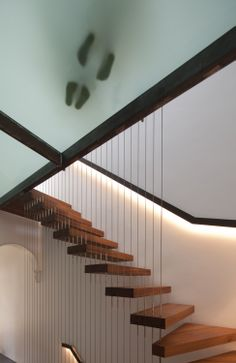 Architecture, Alterations and Additions, Stairs, Timber, Glass, Terrace, Old and New  http://www.samcrawfordarchitects.com.au/newtown-terrace/#