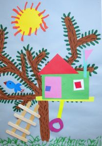 2nd grade treehouses