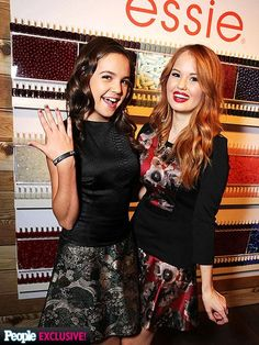 Trophy Wife's Bailee Madison and Disney star Debby Ryan catch up over their essie manis.