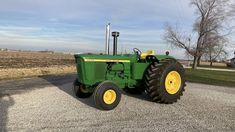 Jd Tractors, John Deere Tractors, John Deere 6030, Venison Jerky, Firestone Tires, New Tractor, Antique Trucks, Farming, Auction