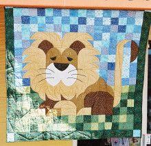 ライオン Cushion Cover Designs, Lions, Teddy Bear, Cushions, Quilts, Frame, Animals, Home Decor, Throw Pillows
