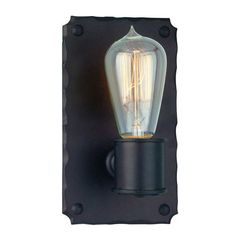 Buy the Troy Lighting Copper Bronze Direct. Shop for the Troy Lighting Copper Bronze Jackson 1 Light ADA Compliant Wall Sconce and save. Indoor Wall Sconces, Candle Wall Sconces, Outdoor Wall Sconce, Wall Sconce Lighting, Chandelier Lighting, Luminaire Mural, Troy Lighting, Copper Lighting, Barn Lighting