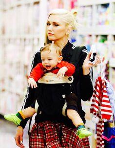Gwen Stefani with son Apollo