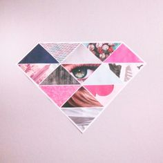 Cute diamond DIY