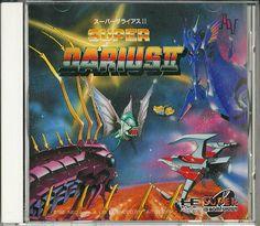 Super Darius II for PC Engine CD-ROM #PCEngine #CD-ROM #Super #Darius #Retro #Gaming