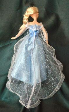 DIY Elsa and Anna Barbie Clothes