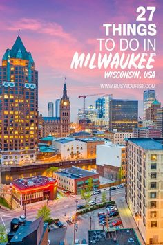 Wondering what to do in Milwaukee WI? This travel guide will show you the top attractions best activities places to visit & fun things to do in Milwaukee Wisconsin. Start planning your itinerary & bucket list now! Travel Tips Travel Hacks packing tour Us Travel Destinations, Places To Travel, Usa Travel Guide, Travel Usa, Travel Guides, Travel Tips, Budget Travel, Canada Travel, Travel Hacks
