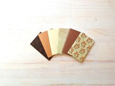 Notebooks 6 Tiny Journals Set Party Favors by ordinaryartists, $5.00