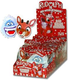 Rudolph Red Nosed Reindeer Lip Pops make for a great stocking stuffer!