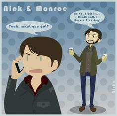 Grimm - Nick + Monroe - Tarantella by ~Bisho-s on deviantART