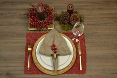 Copa&Cia - Decoração para a Mesa de Natal.