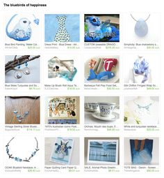 The Bluebird of Happiness by Meg on Etsy Esty, Blue Bird, Happiness, Happy, Gifts, Presents, Bonheur, Ser Feliz, Being Happy