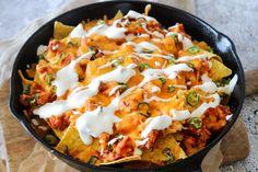 Chilaquiles – Nachos Med Kylling, Salsa, Ost Og Jalapeños