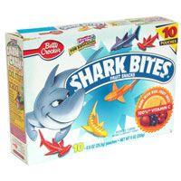 shark bites fruit snacks