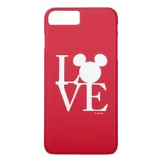 Mickey Mouse LOVE | Valentine's Day 3 Case-Mate iPhone Case #afflink