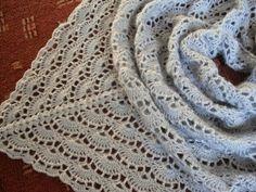 Dolce Vita: Chusta crochet shawl!
