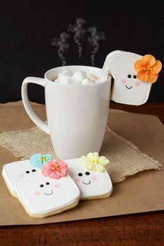 Simple Marshmallow Cookies | The Bearfoot Baker