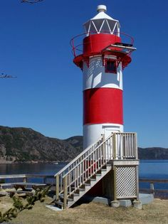 Rocky Point #Lighthouse - Brenton Harbour - Newfoundland  - #Canada    http://dennisharper.lnf.com/