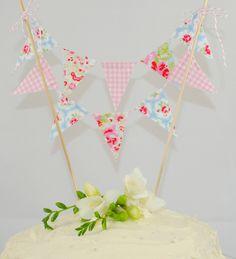 Cake Bunting - CATH KIDSTON - ooo pretty!