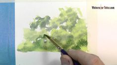 How to Paint a Group of Trees With Watercolor: From Watercolor Tutor.com