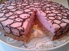 Eeeeelsker at bage: Hindbær Cheesecake på nødde/kikse bund