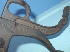 Tru-Fit Mfg Co Philadelphia Pa Shoe Stretcher Cobbler Tool Cast Iron