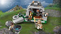 75200 Ahch-To Island Training : présentation du set par son designer: C'est assez rare pour être souligné, LEGO se fend d'une vidéo… #LEGO