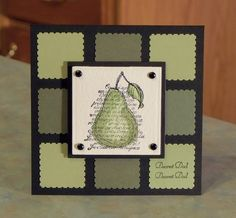 Birthday or Father's Day Card - Stampin' Up Faith in Nature