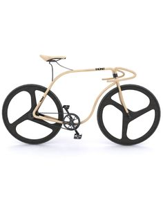 Thonet Wooden Concept Bike by Andy Martin