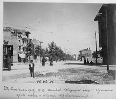 Fevzipaşa Caddesi, Fatih / 1914 | Eski İstanbul Fotoğrafları Arşivi Natural Preservatives, Ulsan, Historical Pictures, Istanbul Turkey, Old Photos, Photo Art, England, Street View, Landscape