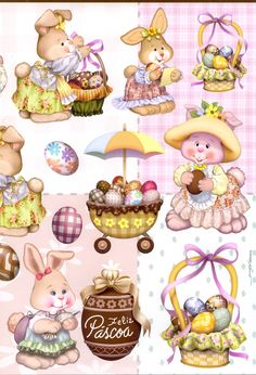 cute bunnies - bjl