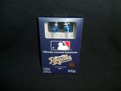 Kansas City Royals MLB Baseball Earphones iHip Officially Licensed Earbuds #iHip